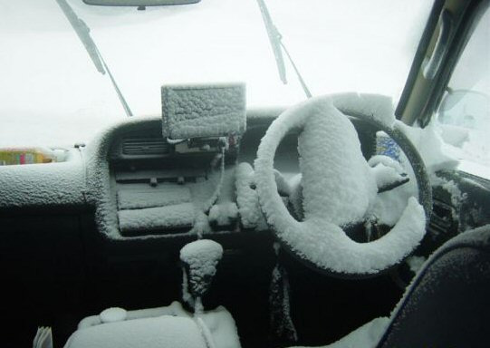 Пуск двигателя в мороз