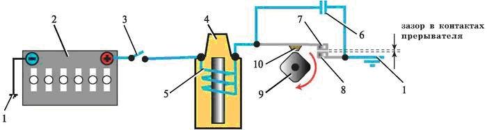 электрическая цепь низкого напряжения