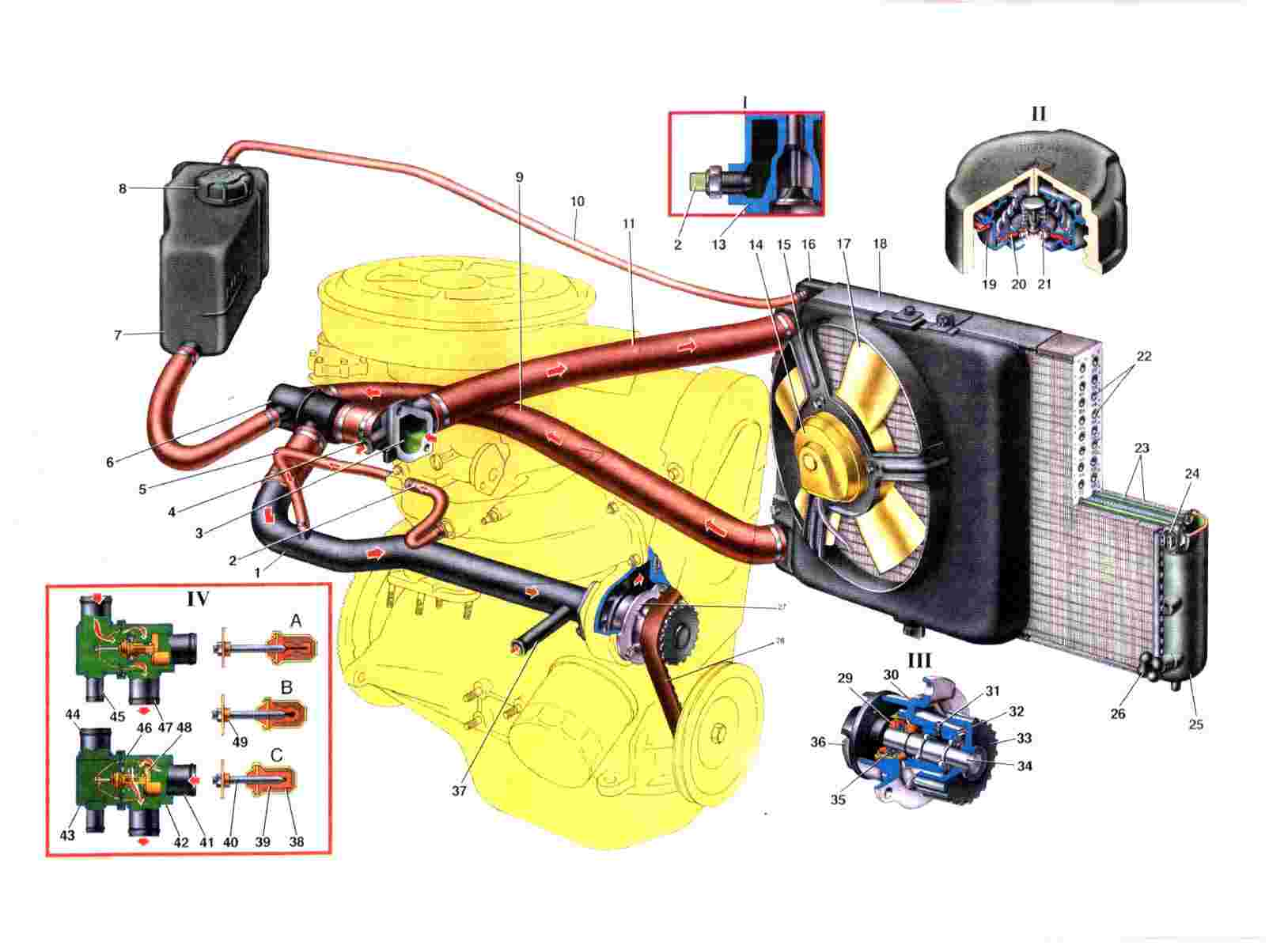 схема эл.проводки датчика уровня топлива ваз21099