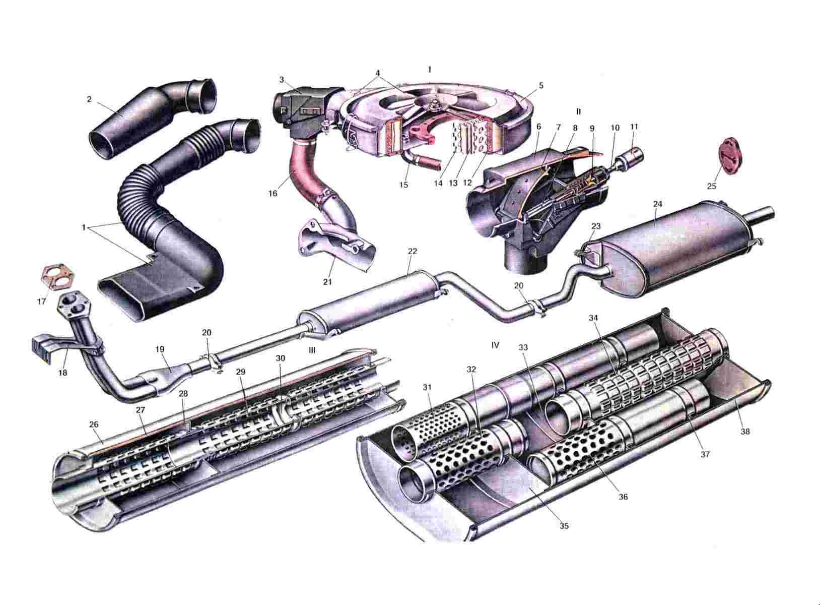 Схема воздушного фильтра Ваз 2108/2109/21099