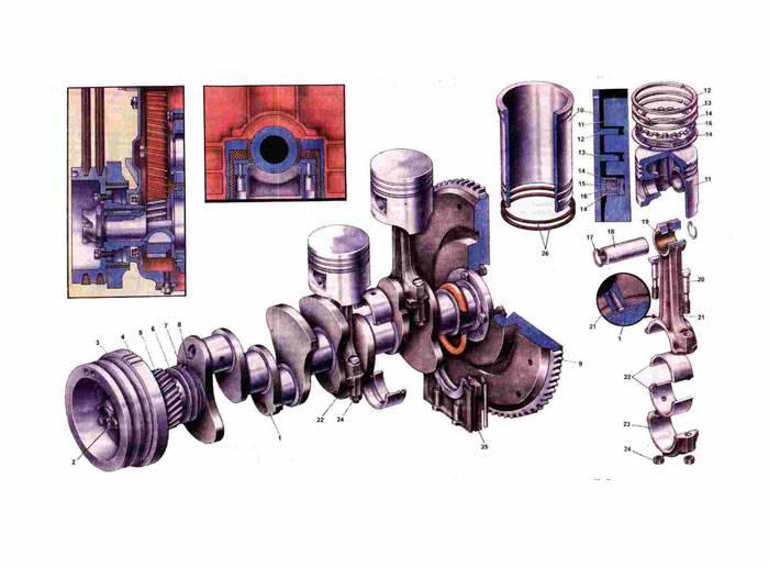 КШМ Газ 31029