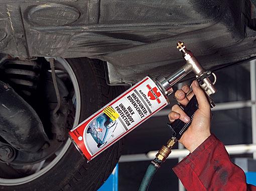 Защита кузова автомобиля от коррозии и ржавчины