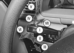 рычаг переключателя света фар и указателей поворота УАЗ 3163 (UAZ PATRIOT)