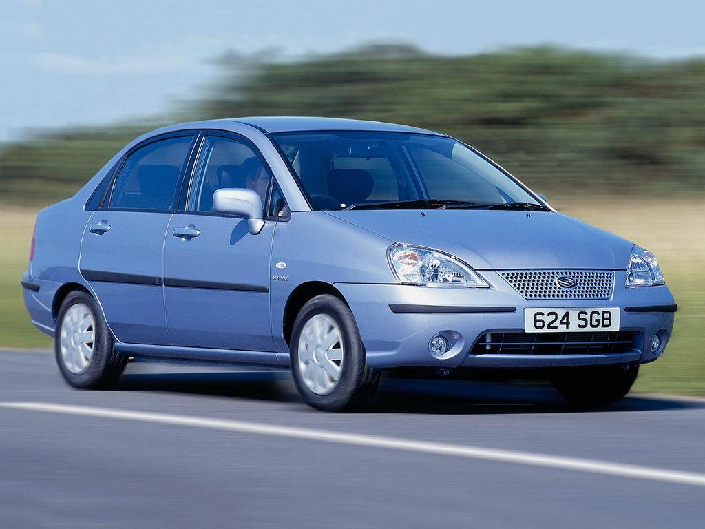 Suzuki Liana 2001, 2002, 2003, 2004, седан, 1 поколение технические  характеристики и комплектации