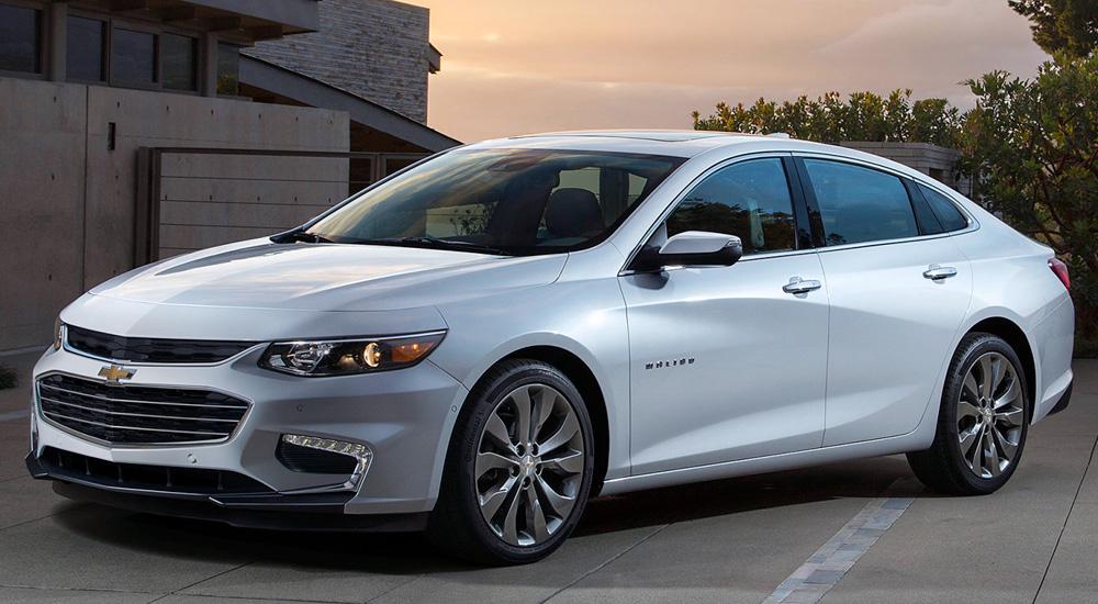 Chevrolet Malibu (2021-2022) цена и характеристики, фотографии и обзор