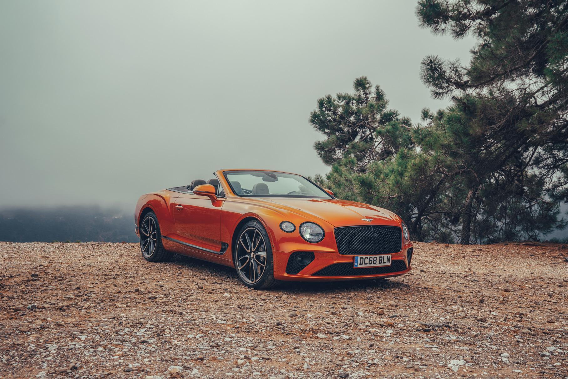 В Bentley попытались создать лучший открытый гран-туризмо в мире —  Тест-драйв — Motor