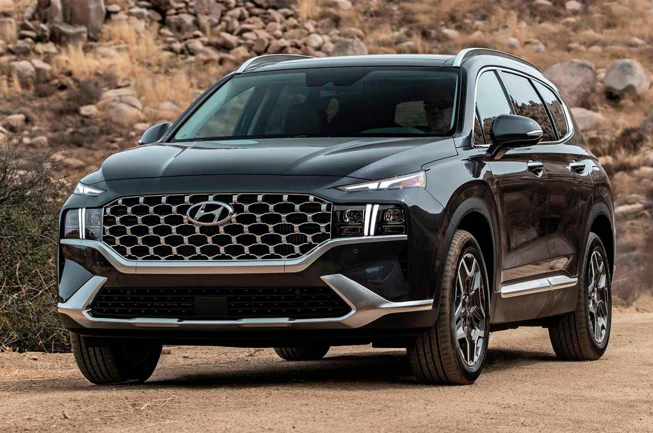 Вышел рестайлинг Hyundai Santa Fe 2021 года, официально | фото