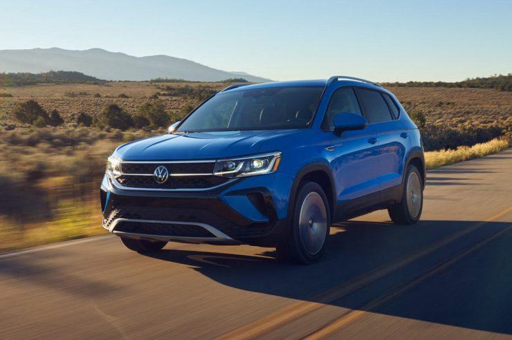 Новый Volkswagen Taos 2021-2022: фото, цена и характеристики